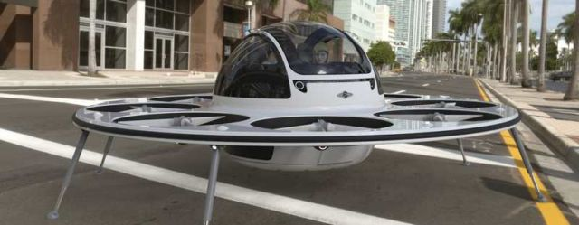 Jet capsule IFO two-seater drone (8)