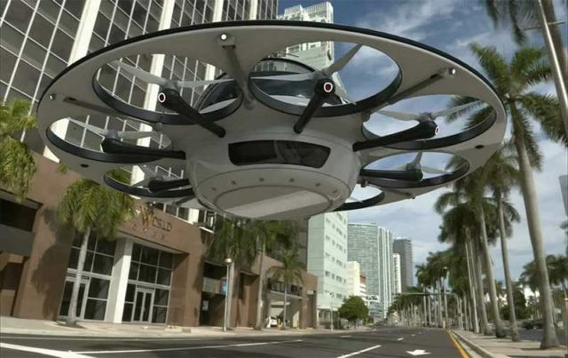 Jet capsule IFO two-seater drone (2)