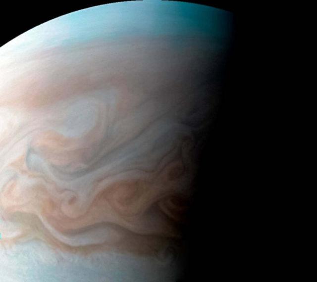 Jupiter Cloudscape in High Resolution
