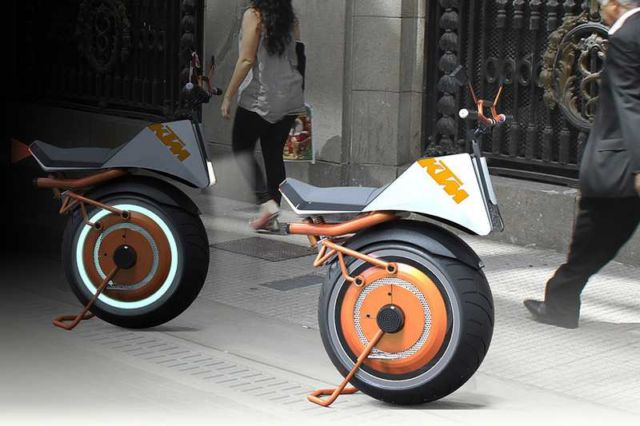 KTM Unicycle concept