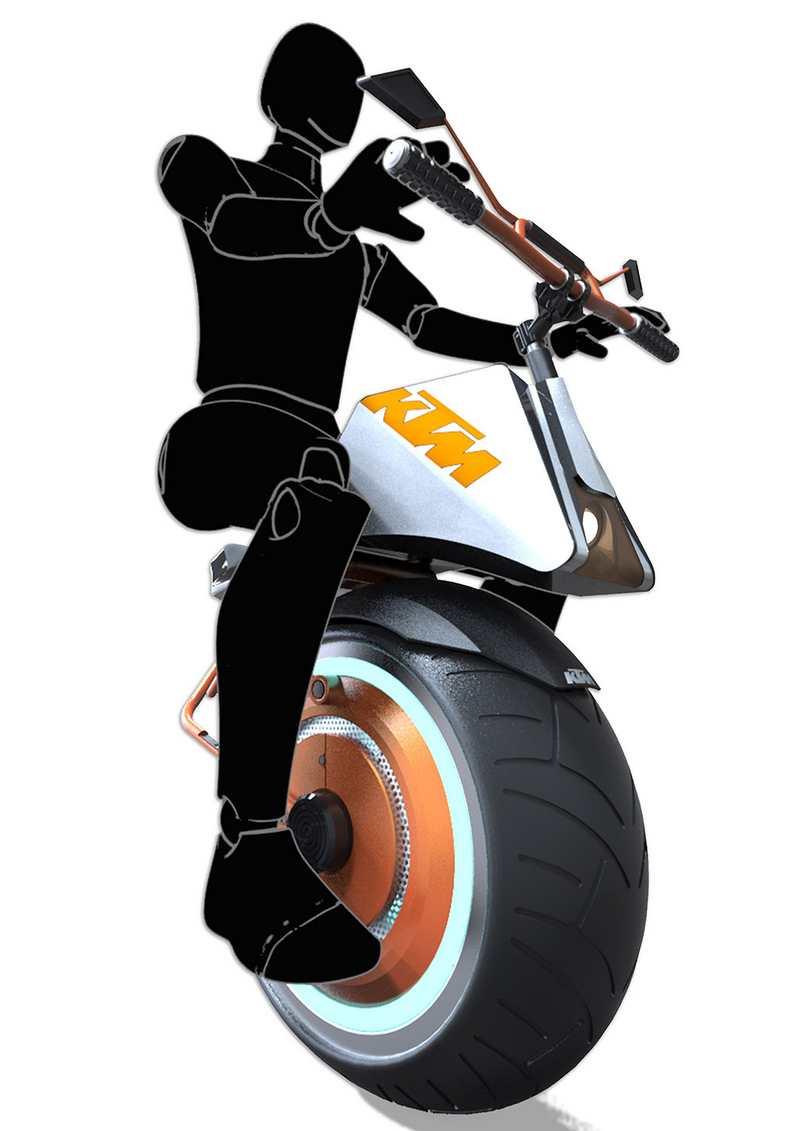 Ktm Unicycle Concept Wordlesstech