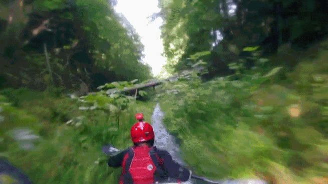Kayak Downhill