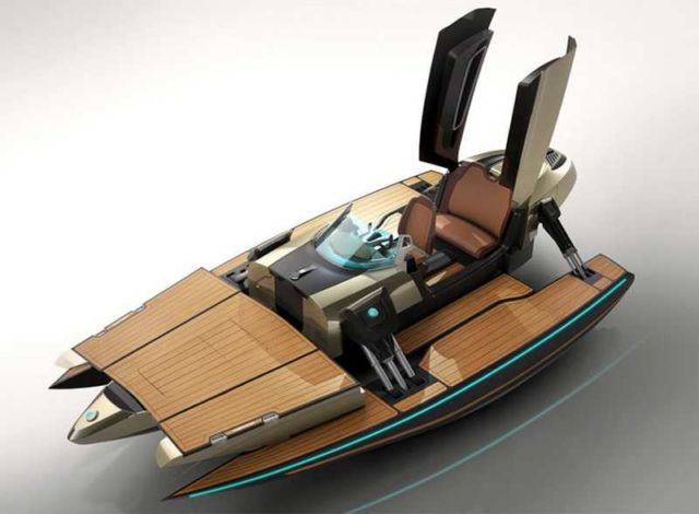 Kormaran K7 personal speedboat (2)