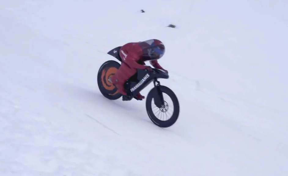 Mountain Bike World Speed Record