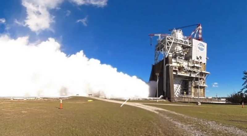 NASA's Mars giant Rocket tests