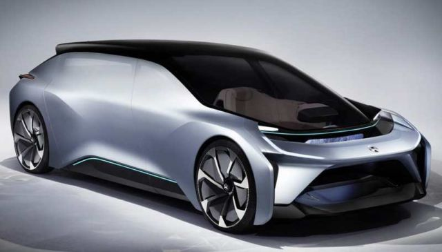 NIO new Self-driving electric car concept