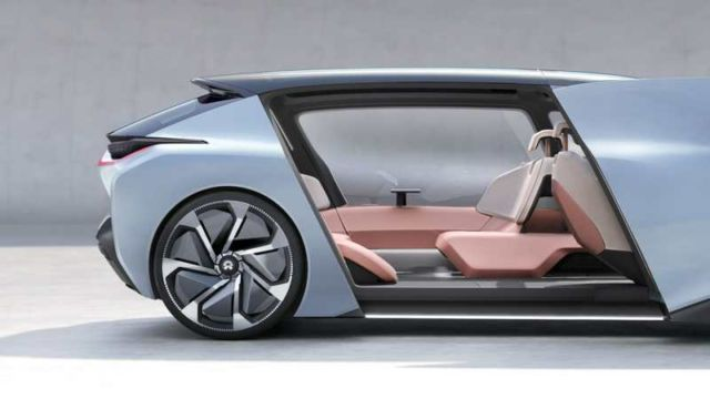 NIO new Self-driving electric car concept (4)
