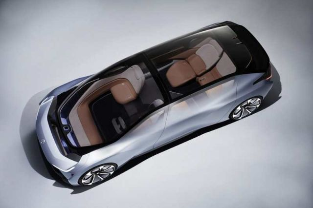 NIO new Self-driving electric car concept (3)