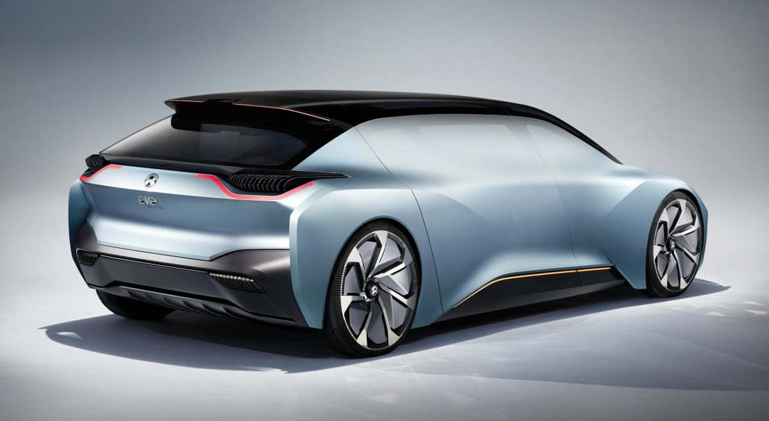 NIO new Self-driving electric car concept (1)