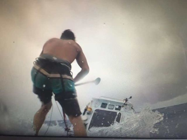 Paddleboarder makes world-first Atlantic Crossing