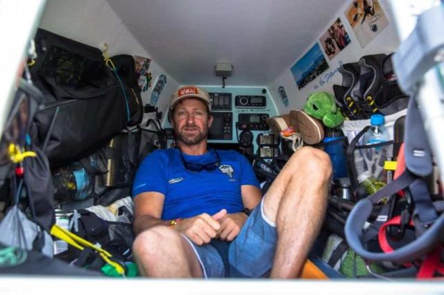 Paddleboarder makes world-first Atlantic Crossing (2)