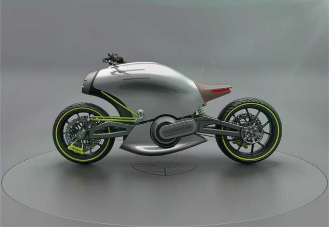 Porsche 618 electric Motorcycle