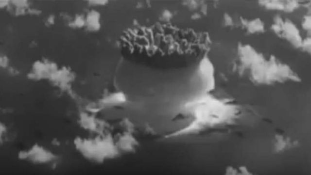 Rare Nuclear Test Films Declassified