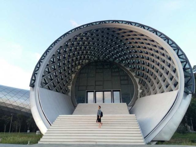 Rhike Park - Music Theatre and Exhibition Hall in Georgia (8)