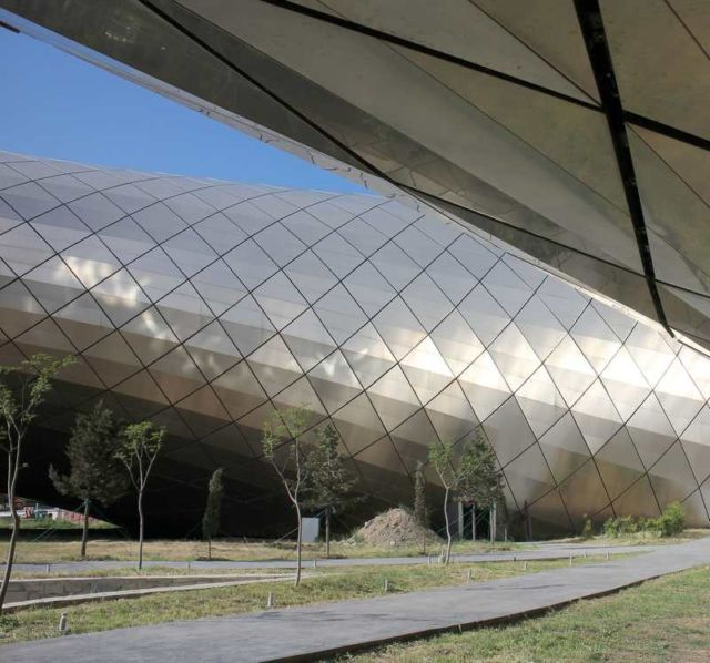 Rhike Park - Music Theatre and Exhibition Hall in Georgia (4)