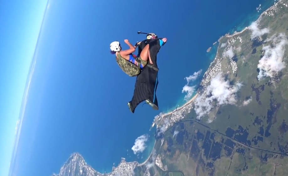 Rodeo on Wingsuit