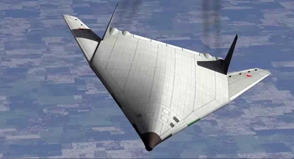 Russia's Next-Gen Stealth Bomber