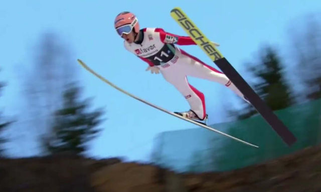 Ski Jump world record