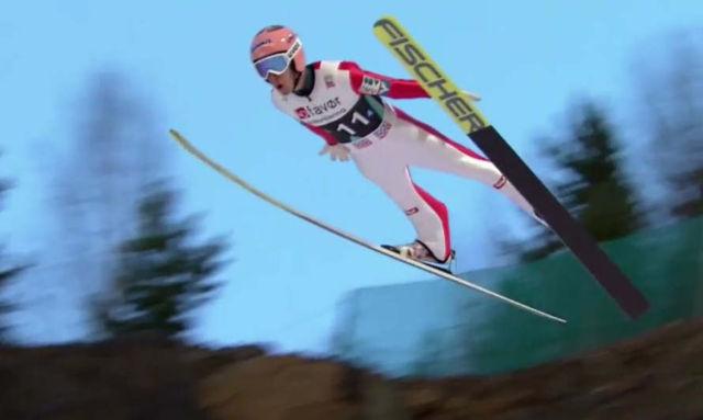 Ski Jump world record
