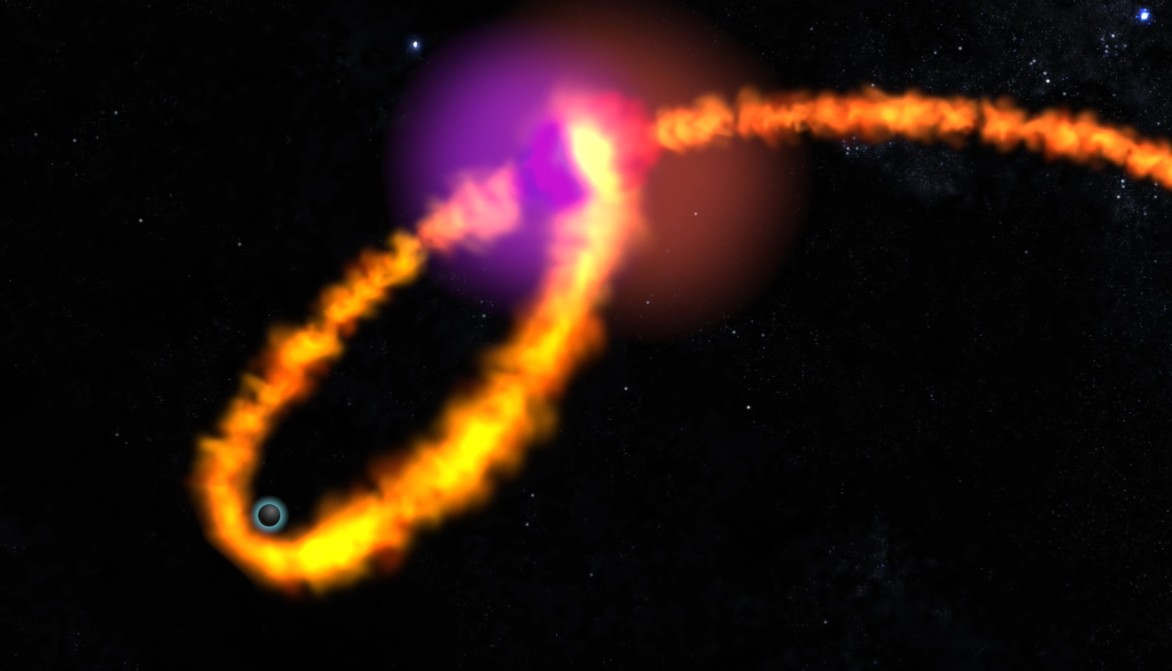 Star's death into a Black Hole
