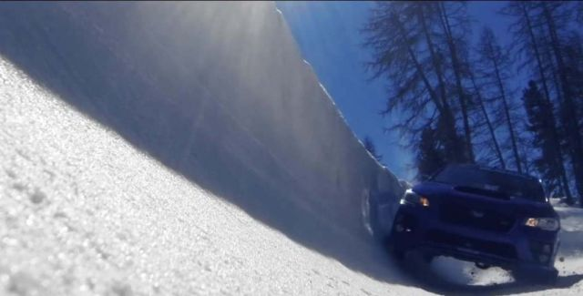 Subaru WRX STI vs an Olympic Bobsled Run