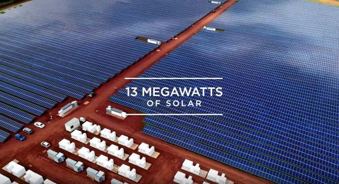 Tesla Solar Powering Kauai
