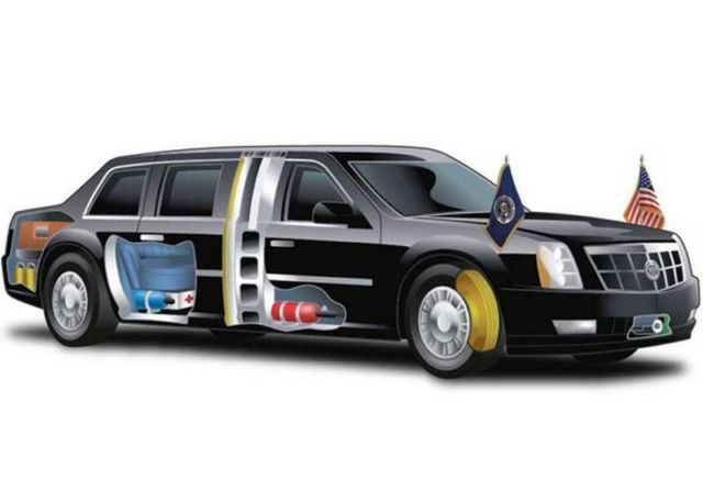 The 'Beast' - New Presidential Limousine