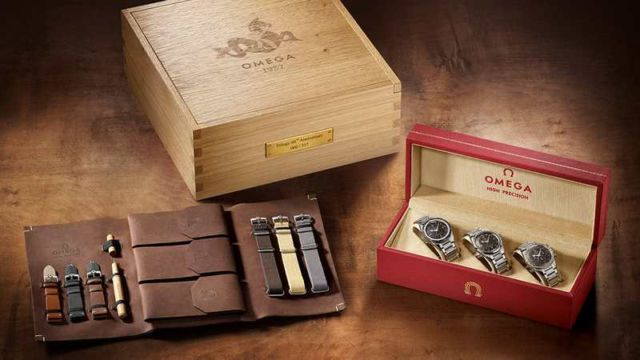 Three Omega Limited-Edition 60th anniversary