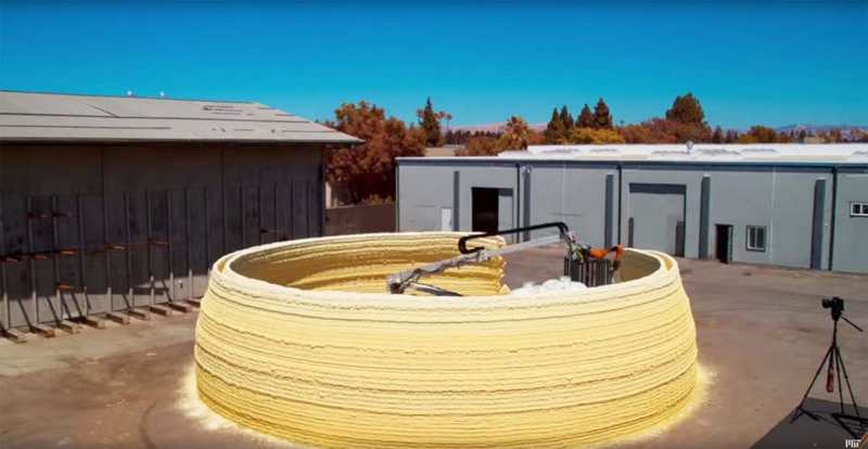 3D printer can build houses in hours