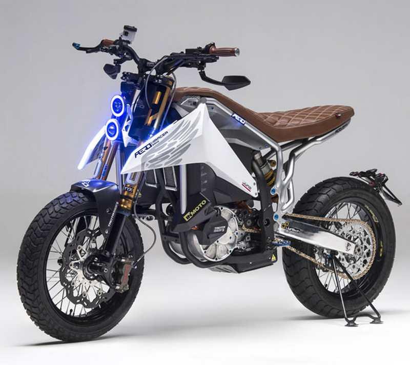 Aero E-Racer Motorcycle (7)
