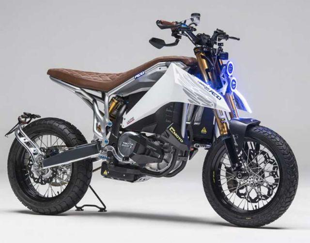 Aero E-Racer Motorcycle (2)