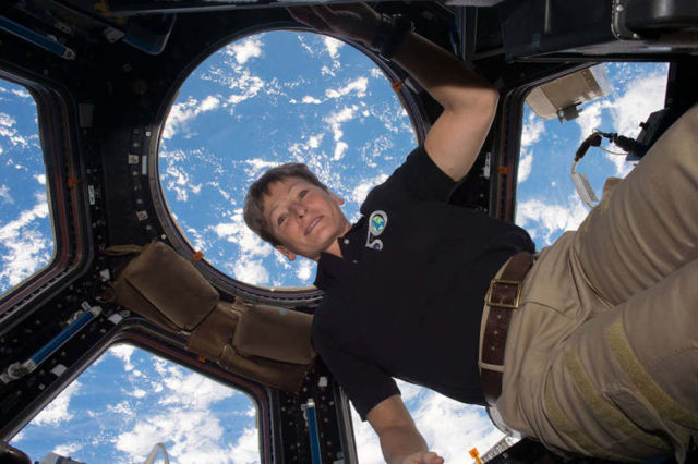 Astronaut Peggy Whitson Sets Spaceflight Record
