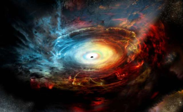 Black Hole in the center of Milky Way