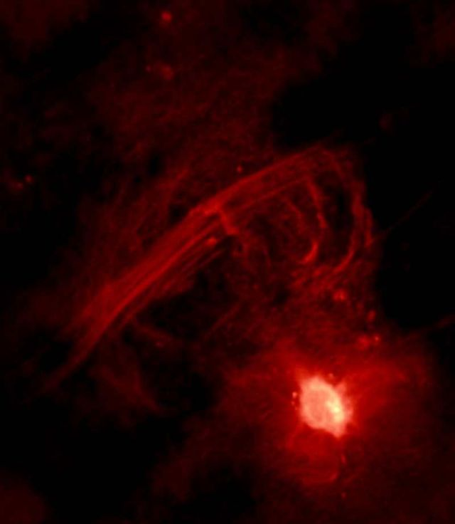 Sagittarius A* seen in radio