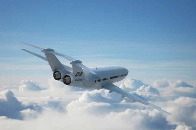 Aurora D8 - the Future of Airliners (2)