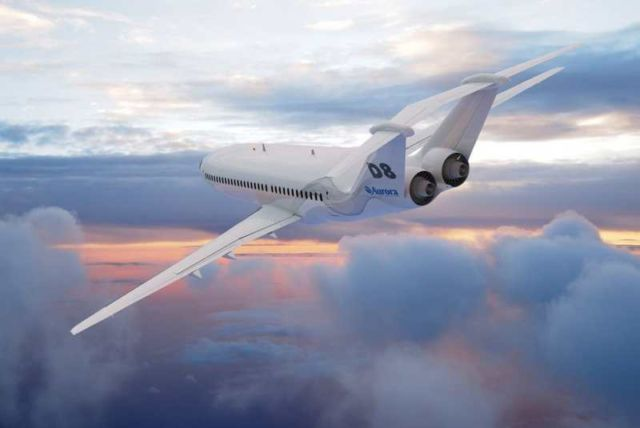 Aurora D8 - the Future of Airliners (1)