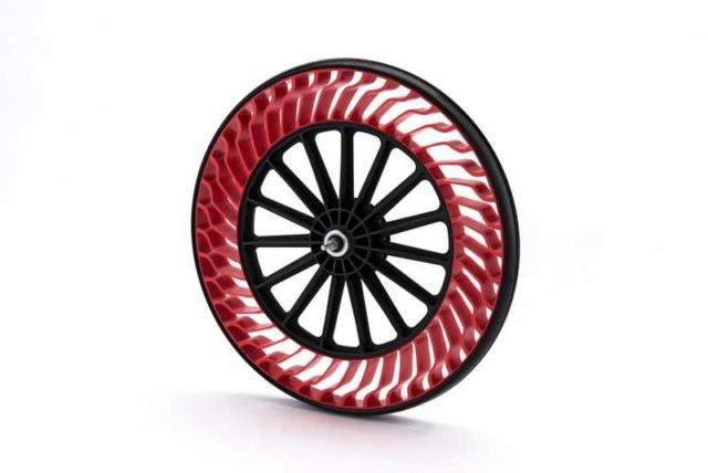 Bridgestone Airless bike tire