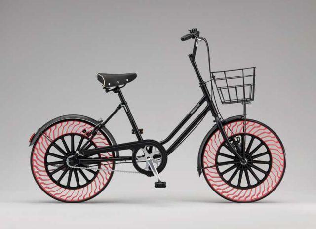 Bridgestone Airless bike tire