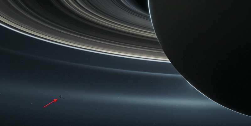 Cassini's spectacular Grand Finale
