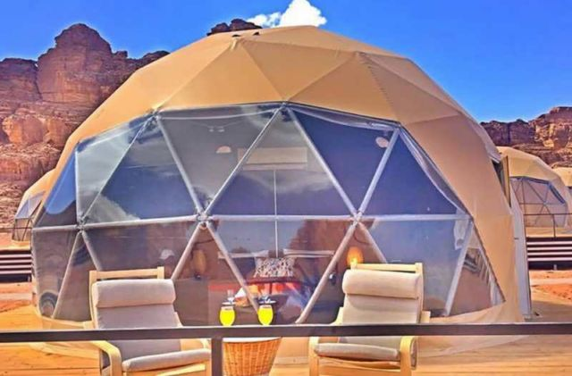 Desert Dome Camp in Jordan (2)