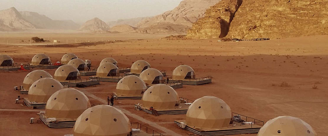 Desert Dome Camp in Jordan (1)