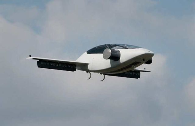 Lilium completed flight tests of electric jet