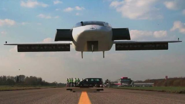 Lilium completed flight tests of electric jet (10)