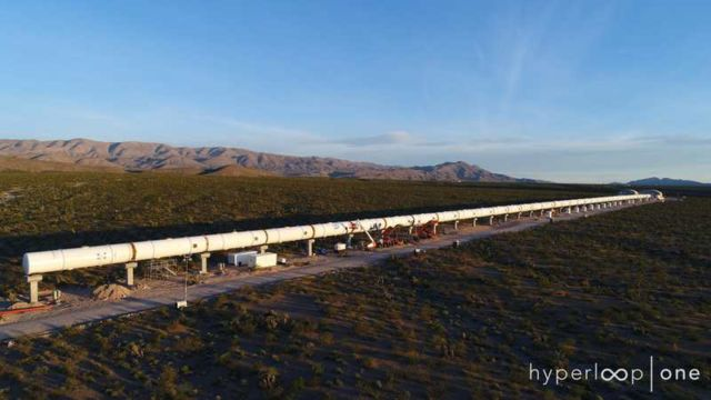Hyperloop One completes Tube Installation at Las Vegas