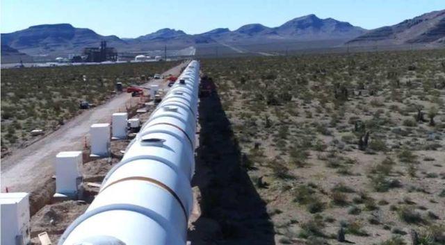 Hyperloop One track
