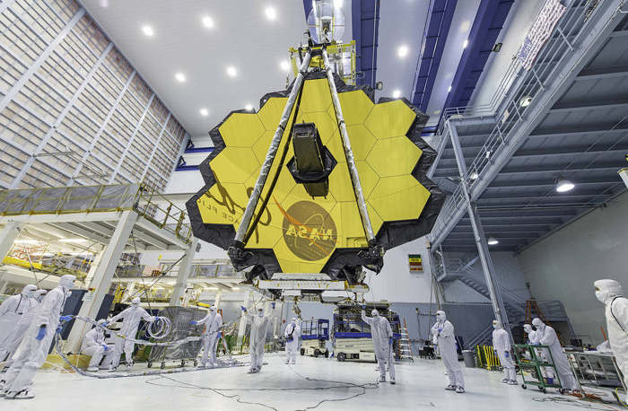 James Webb Space Telescope majestic Mirror