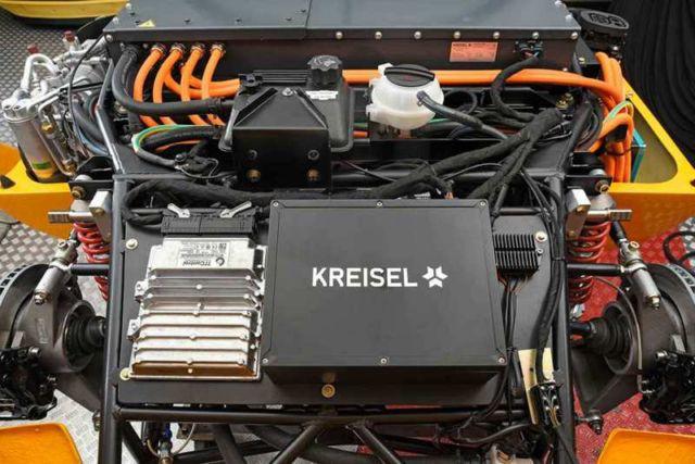 Kreisel EVEX electric Porsche 910e