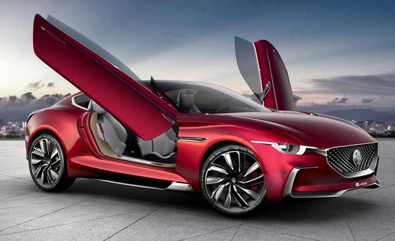 Mg E Motion Ev Sports Car