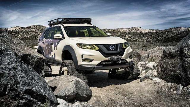 Nissan Rogue Trail Warrior (4)