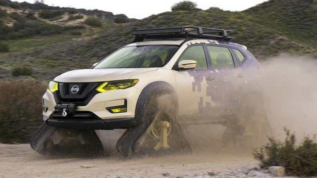 Nissan Rogue Trail Warrior (1)